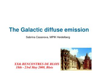The Galactic diffuse emission