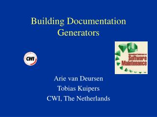 Building Documentation Generators