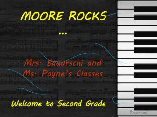 MOORE ROCKS …