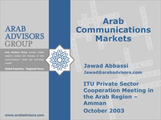 Arab Communications Markets