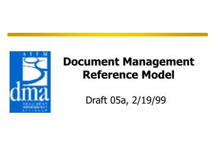 Document Management Reference Model
