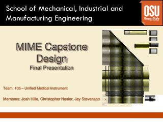 MIME Capstone Design Final Presentation