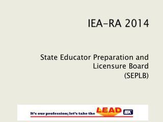 IEA-RA 2014