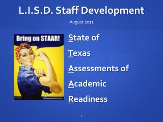 L.I.S.D. Staff Development