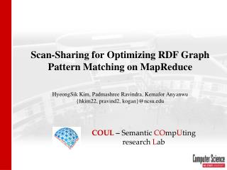 Scan-Sharing for Optimizing RDF Graph Pattern Matching on  MapReduce