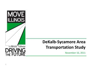 DeKalb-Sycamore Area Transportation Study