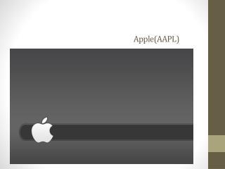 Apple(AAPL)
