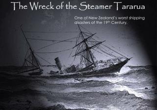 The Wreck of the Steamer  Tararua