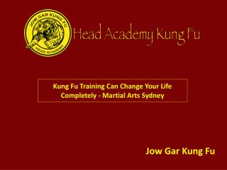 Kung Fu Training Can Change Your Life Completely