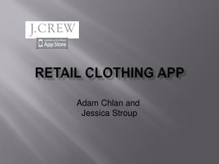 Retail Clothing App