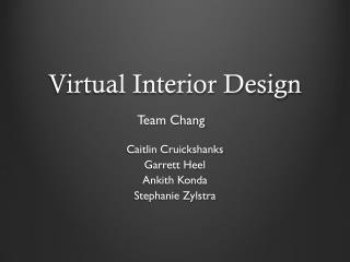 Virtual Interior Design