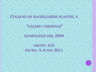 presentacion+gerzon+las+olimpiadas+2008