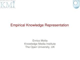 Empirical Knowledge Representation