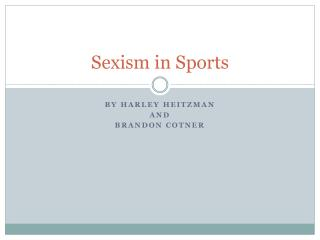 Sexism in Sports