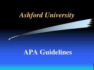 AshfordUniversity
