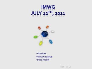 IMWG July 12 th , 2011