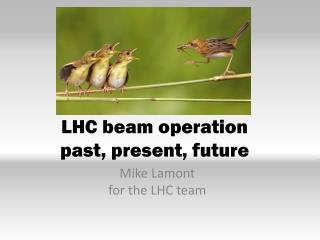 LHC beam operation past , present, future