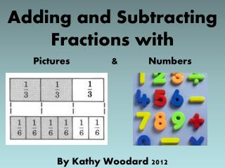 Adding and Subtracting Fractions with