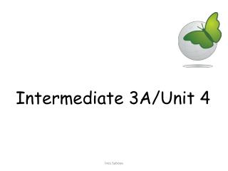 Intermediate  3A/ Unit  4