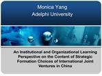 Monica Yang Adelphi University