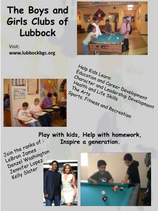 The Boys and Girls Clubs of Lubbock