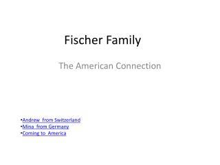 Fischer Family
