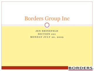 Borders Group Inc