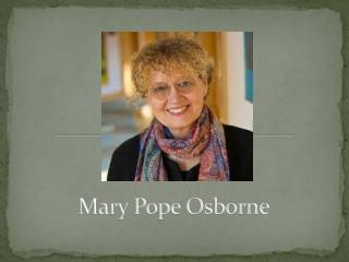 Mary Pope Osborne
