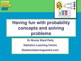 Having fun with  probability  c oncepts  and solving problems