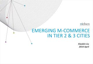 Emerging m-commerce in tier 2 & 3 cities