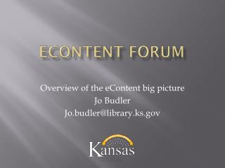 eContent  Forum
