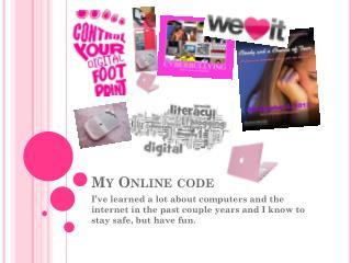 My Online code