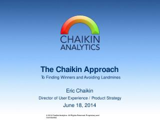 Pick Bullish Stocks and Avoid the Bearish with Chaikin Analy