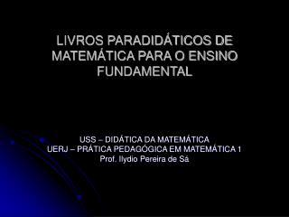 LIVROS PARADID