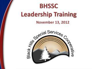 BHSSC Leadership Training