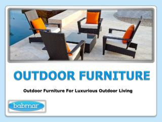 Buy Outdoor Sectional Furniture for Your Home