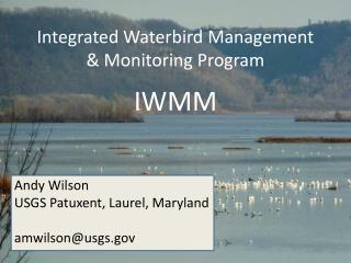 Integrated Waterbird Management  & Monitoring Program IWMM