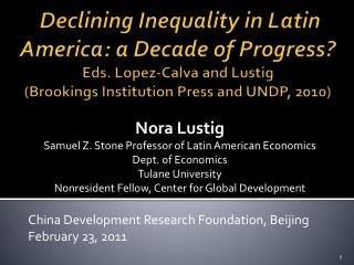 Social Determinants of Health Inequities in Brazil