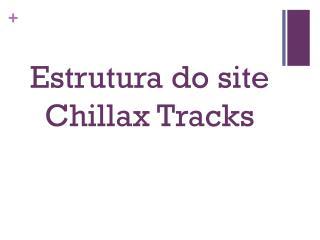 Estrutura do site  Chillax Tracks