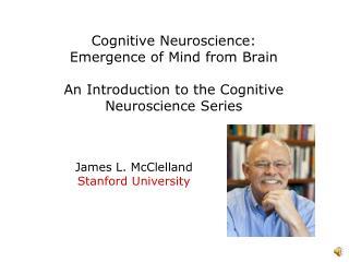 James L. McClelland Stanford University