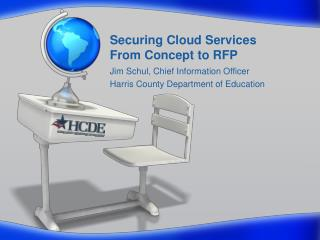 Securing Cloud Services From Concept to RFP