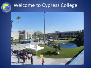 Welcome to Cypress College
