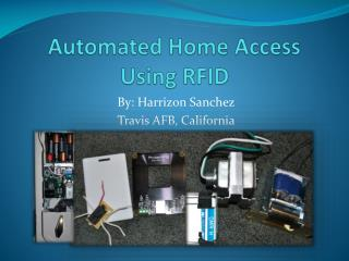 Automated Home Access Using RFID