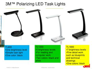 3M™ Polarizing LED Task Lights
