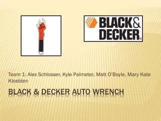 Black & Decker auto wrench