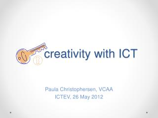 creativity with ICT