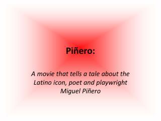 Piñero: