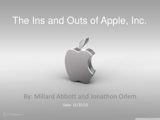 The Ins and Outs of Apple, Inc.