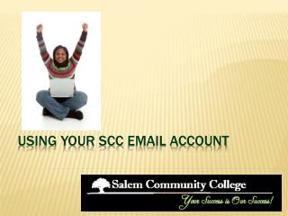 Using your  scc  email account