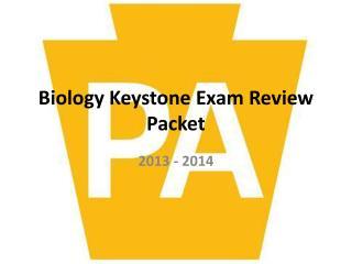 Biology Keystone Exam Review Packet